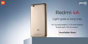Xiaomi Redmi 4A available on April 27 at Poorvika mobiles