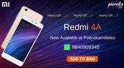 Xiaomi redmi 4A available on 27april 2017 poorvika mobiles