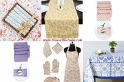Online Shopping - Buy Table Covers,  Runners,  Placemats and Kitchen Set