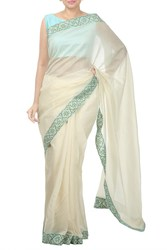 Natural Crepe Designer Sarees Online. Buy Now From Thehlabel.Com!