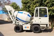 John 2CM Self Loading Concrete Mixers - Johninfra