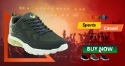 Shop Designer Ocean Grey Men Sports Shoes at Vostrolife.com
