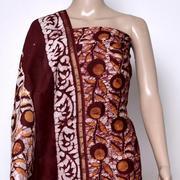 Handblock print dress material,  Traditional dress