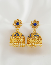 Buy Wonderful Collection of Jhumka Design From Anuradha Art Jewellery.