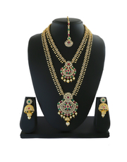 Wonderful Collection of Bridal Jewelry Sets Online From Anuradha Art