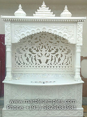 Buy superior quality carved marble temple in Jaipur