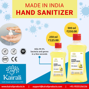 Kairali Hand Sanitizer – A safe and trusted brand