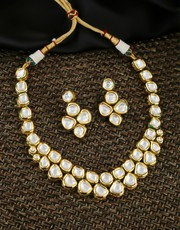 Wonderful Collection of Kundan Bridal Jewellery Sets Online