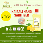Personal care is now easy with Kairali Hand Sanitizer