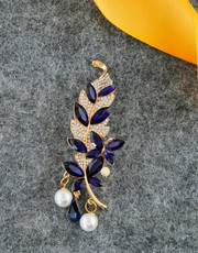 Shop for Coat Brooch for Men at Low Cost by Anuradha Art Jewellery