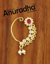 Buy Maharashtrian Nath Design at best price at Anuradha Art Jewellery