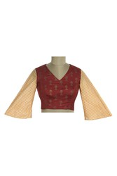 Checkout Blouses In Unique Designs At TheHLabel: Shop Now!