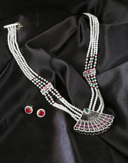 Get Online Collection of Latest Pearl Necklace Design at Low Price
