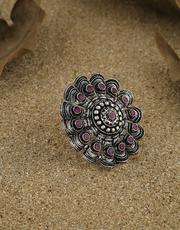 Buy Oxidised Jewellery and Black Metal Jewellery Online at Best Price by Anuradha Art Jewellery