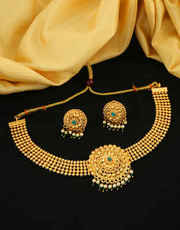 Explore Necklace Set Designs at Best Price at Anuradha Art Jewellery