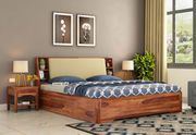 Buy king size bed for your bedroom at wooden street in India