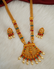 Shop for Long Necklace Designs at Best Price by Anuradha Art Jewellery
