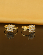 Get Online Collection of Latest Toe Rings Design at Low Price