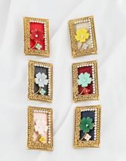 Buy Saree Pin Design at an Affordable Price by Anuradha Art Jewellery.