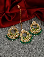 Buy Chandbali Designs Online at Best Price by Anuradha Art Jewellery