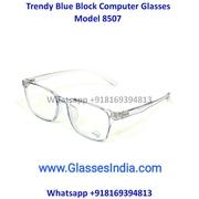 Rectangle Blue Light Glasses Computer Glasses