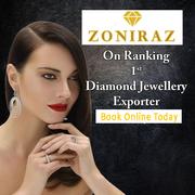 Diamond Jewellery Exporters in India