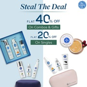 Steal the Deal: Get Flat 40% Off on Combos & 20% Off on Singles | The
