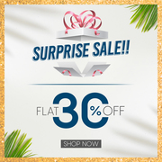 Surprise Sale - Get Flat 30% on Baby and Mother Care Products