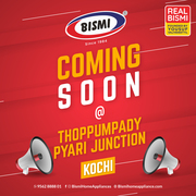 Bismi home appliances  Home Appliance Stores in Kerala